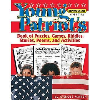 Libro del giovane patriota di enigmi, giochi, indovinelli, storie, poesie e Activit