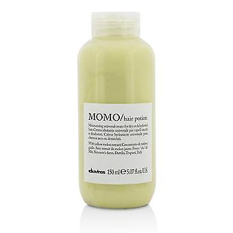 Davines Momo Hair Potion Moisturizing Universal Cream (for Dry Or Dehydrated Hair) - 150ml/5.07oz