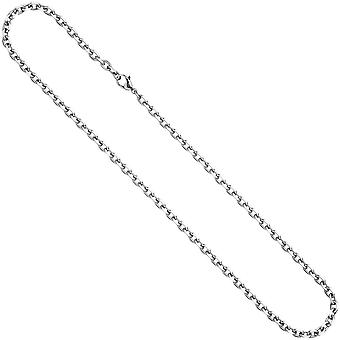 Anchor chain stainless steel 4.3 mm 60 cm necklace chain carabiner