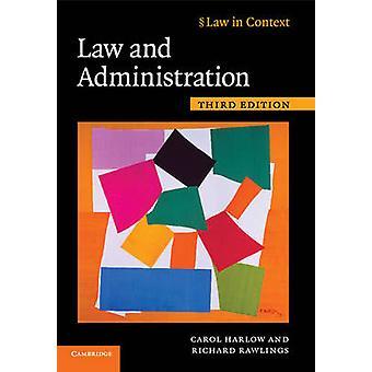 Law and Administration par Carol Harlow