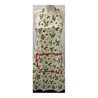 Roy Kirkham Alpine Strawberry Design Cotton Apron