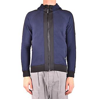 Hydrogen Ezbc186003 Men's Blue/grey Cotton Sweatshirt