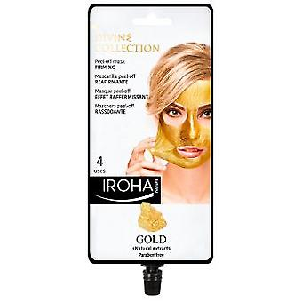 Iroha Nature Gold Peel-Off Firming Mask 4 Unidades