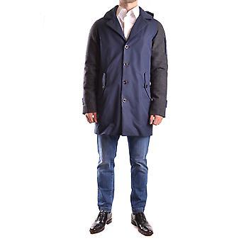 Geospirit Ezbc203036 Men's Blue/grey Cotton Outerwear Jacket