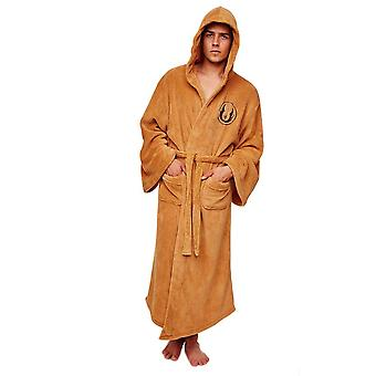 Star Wars Jedi Adult Tan Fleece Dressing Gown  - ONE SIZE