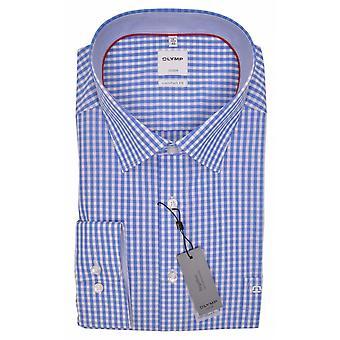 OLYMP Olymp Formal Gingham Long Sleeve Shirt