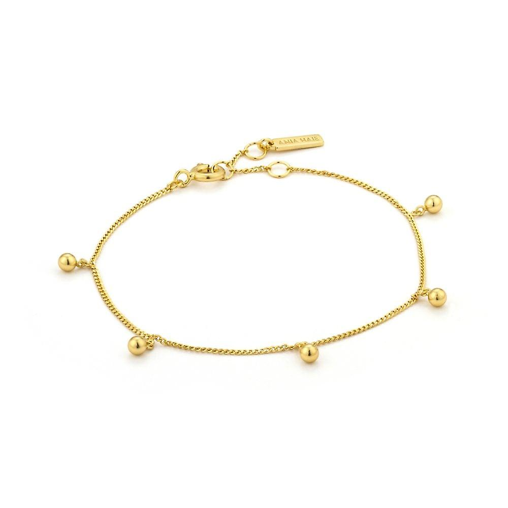 Ania Haie Gold Plated Sterling Silver 'Out Of This World' Beaded Bracelet