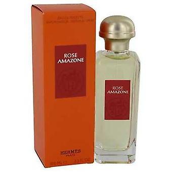 Rose Amazone av Hermes Eau de Toilette Spray 3,3 oz (damer) V728-541258
