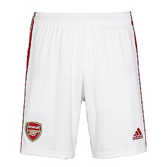 2019-2020 Arsenal Adidas Home Shorts alb (copii)