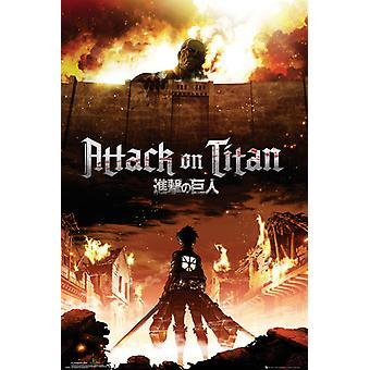 Attaque sur Titan Key Art Maxi Poster 61x91.5cm
