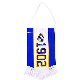 Real Madrid CF Official Established Football Crest Pennant