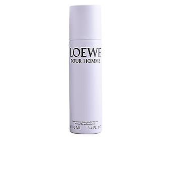 Loewe Loewe Pour Homme Deo Spray 100 Ml For Men