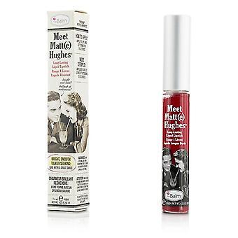 Conheça TheBalm fosco Hughes duradouro batom líquido - dedicado 7.4ml/0.25oz