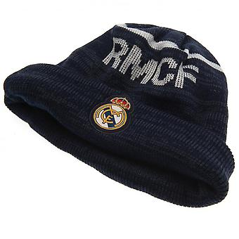 Real Madrid CF Knitted Turn Up Beanie Hat