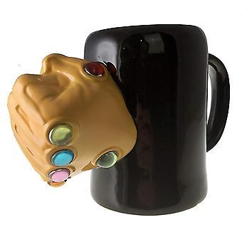 Molded Mug - Marvel - Thanos Infinity Gauntlet Rings 24oz momg-mu-infg
