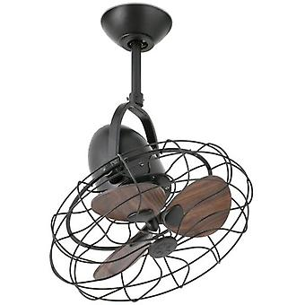 Wellindal Fan Without Light Keiki 45Cm Brown 3 Blades