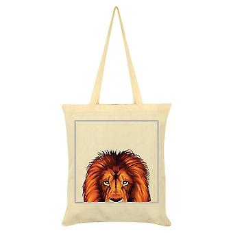 Inquisitive Creatures Lion Tote Bag