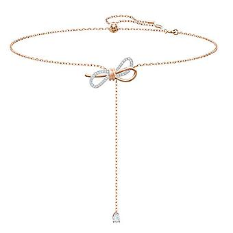 Swarovski Woman Plated_Gold Wire Necklace 5447082