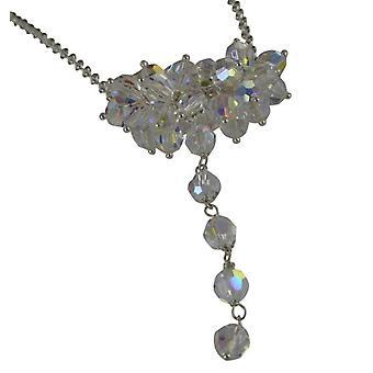 Jane Davis JDJXM006 - Damen Halskette - Silber - 420 mm