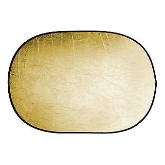 BRESSER BR-TR5 reflector plegable oro / plata 60x90cm