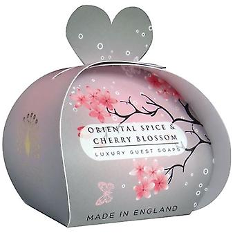 Oriental Spice and Cherry Blossom Luxury Guest Soap 60g