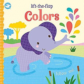 Colors - Lift-The-Flap by Sarah Ward - 9781474880015 Book
