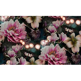 Arthouse Momoka Rose roze bloemen behang bloemen vintage vinyl plakken muur