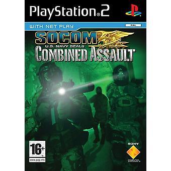 SOCOM US Navy SEALs kombinerade Assault (PS2)-fabriken förseglad