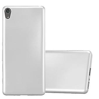 Cadorabo Hülle für Sony Xperia XA Case Cover - Handyhülle aus flexiblem TPU Silikon – Silikonhülle Schutzhülle Ultra Slim Soft Back Cover Case Bumper