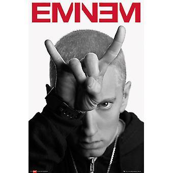 Poster - Studio B - Eminem - Horns 36x24