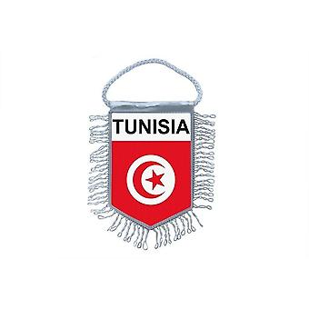 Flagge Mini Flagge Land Auto Dekoration Tunesien Tunesien