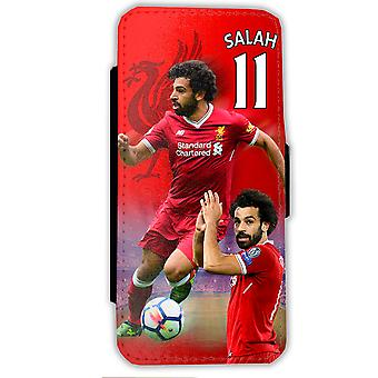 iPhone XS/X Salah 11 Fall-Liverpool Mobile Brieftasche