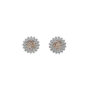 Emozioni Silver Sprizzare Purity Loyalty Earrings EE032