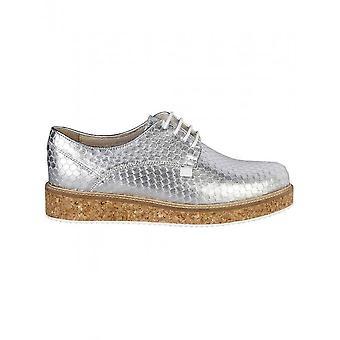 Trussardi - Shoes - Sneakers - 79S555_112_SILVER - Women - silver,peru - 41