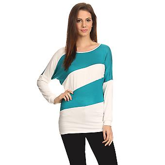 Women's Striped Long Sleeve Summer Top