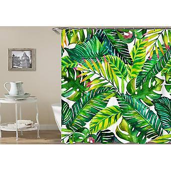 Tende doccia foglie tropicali