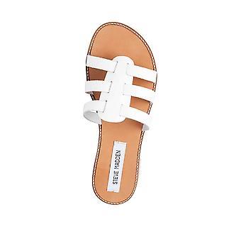 Steve Madden Womens Tammey Open Toe Casual Slide Sandals