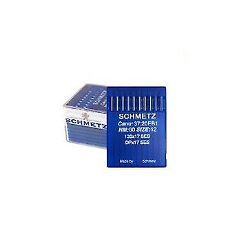 100 x Schmetz Industrial Sewing Machine Needles - Walking Foot Ball Point 135x17 SES (Various Sizes)