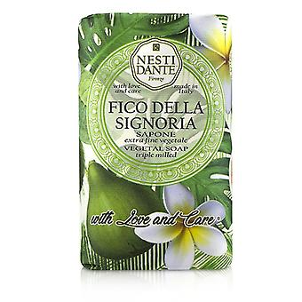Nesti Dante Triple Milled Vegetal Soap Con Amore & Cura - Fico Della Signoria - 250g/8.8once