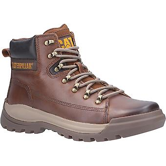CAT Lifestyle Mens Brawn Lace Up Boot Pelikaan