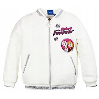 Girls RH1067 Disney Frozen Faux Fur Polar Jacket Size: 4-8 Years