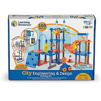 Learning Resources - City Engineering & Design Building Set