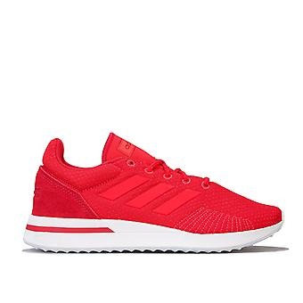 Womens adidas Run 70S Trainers In Active Pink / Shock Red
