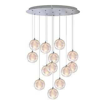 Modern Pendant Ceiling Light Dining room 13 Pendant Lamp Round Canopy Brand New