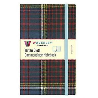 Waverley Anderson Tartan Large Notebook 21cmx13cm by From an idea by Ron Grosset