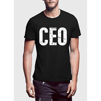 CEO halv ærmer t-shirt