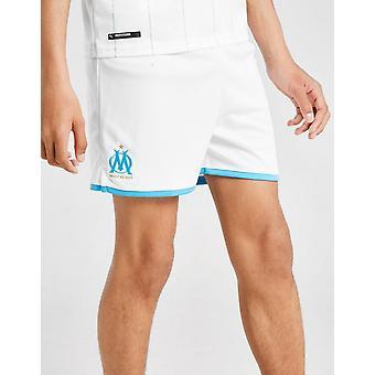 Neue Puma Olympique Marseille 2019/20 Home Shorts Junior White