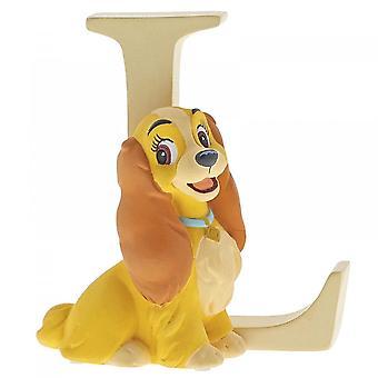 Disney Enchanting Collection Letter L - Lady