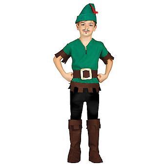 Boys Robin Hood Outlaw Fancy Dress Costume
