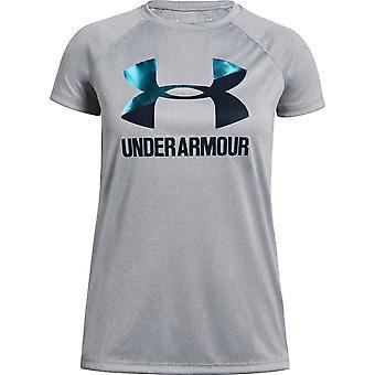 Under Armour Girls Big Logo Solid T-shirt